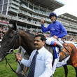 Frankie Dettori and Blue Bunting Photos
