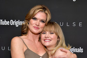 """(L-R) Missi Pyle and Maddie Hasson as YouTube Originals hosts a special screening of """"Impulse"""" Season 2 from the director of The Bourne Identity on October 15, 2019 in West Hollywood, California."""