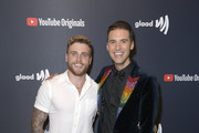 (L-R) Gus Kenworthy and Raymond Braun attend YouTube Originals State Of Pride Los Angeles Premiere at The Ricardo Montalban Theatre on May 29, 2019 in Hollywood, California.