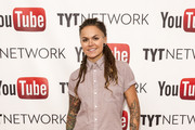 TV personality Whitney Mixter arrives at the YouTube & TYTNetwork PRIDE Party on June 27, 2013 in Los Angeles, California.