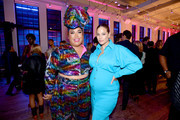 Patrick Starrr and Ashley Graham celebrate the launch of YouTube.com/Fashion on September 09, 2019 in New York City.