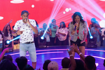 Young Monster BET's '106 & Park' Films in NYC