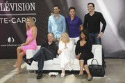 (2nd row from left) Sharon Case, Joshua Morrow, Christian Leblanc, Daniel Goddard, (1st row from left) Eric Braeden, Melody Thomas Scott and Tonya Lee Williams attend 'The Young And The Restless' Photocall   as part of the 53rd Monte Carlo TV Festival on June 10, 2013 in Monte-Carlo, Monaco.
