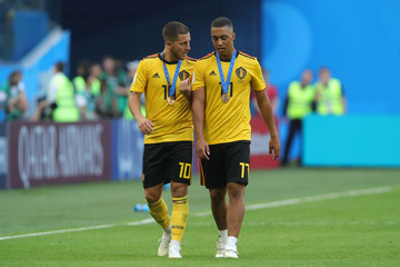 Youri Tielemans Belgium vs. England: 3rd Place Playoff - 2018 FIFA World Cup Russia