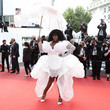 """Yseult """"Les Intranquilles (The Restless)"""" Red Carpet - The 74th Annual Cannes Film Festival"""
