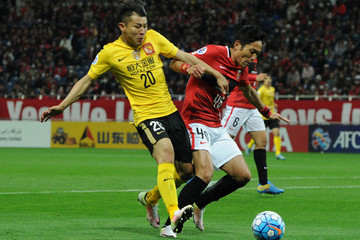 Yu Hanchao Urawa Red Diamonds v Guangzhou Evergrande - AFC Champions League Group H