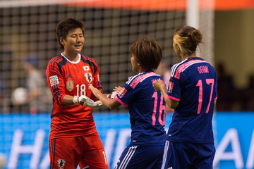 Yuki Ogimi Japan v Netherlands: Round of 16 - FIFA Women's World Cup 2015