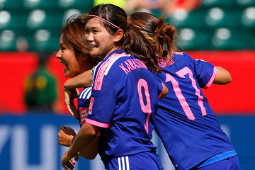 Yuki Ogimi Australia v Japan: Quarter Final - FIFA Women's World Cup 2015