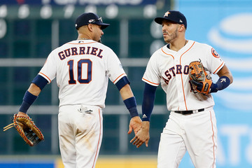 Yulieski Gourriel Divisional Round - Cleveland Indians vs. Houston Astros - Game One