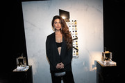 Negin Mirsalehi attends the Yves Saint Laurent Beauty and Dua Lipa celebrating the launch of the new fragrance 'Libre' at Castel Club on September 25, 2019 in Paris, France.