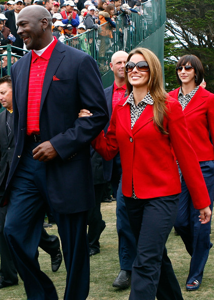 The Presidents Cup - Final Round [outerwear,event,uniform,suit,jacket,michael jordan,yvette prieto,california,san francisco,harding park golf course,usa team,presidents cup,round,closing cermonies,final round singles matches]