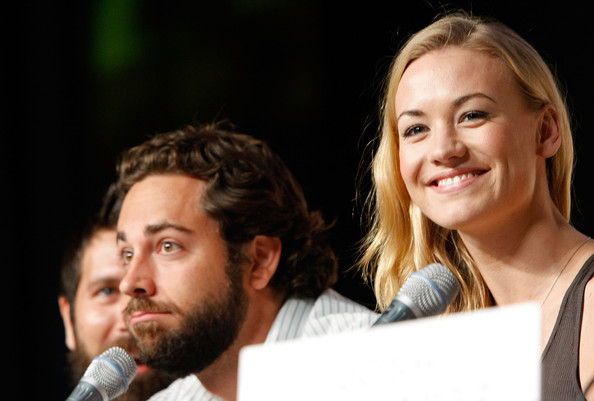 Zachary Levi and Yvonne Strahovski - Comic-Con 2009 - Day 3