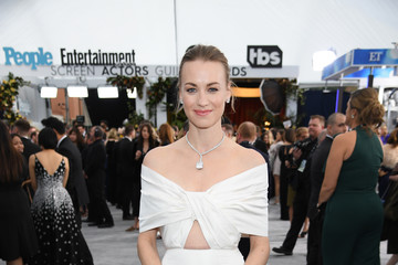 Yvonne Strahovski 26th Annual Screen Actors Guild Awards - Red Carpet