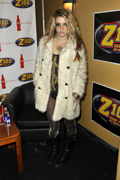 Kesha in Z100 & Coca Cola All Access Lounge Pre-Show