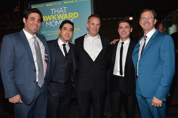 Zac Efron Peter Schlessel 'That Awkward Moment' Premieres in LA — Part 2