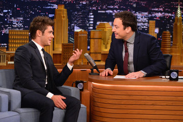 "Zac Efron Zac Efron Visits ""The Tonight Show Starring Jimmy Fallon"""
