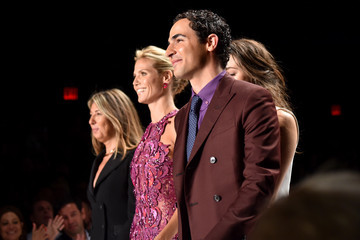 Zac Posen Project Runway - Front Row - Mercedes-Benz Fashion Week Spring 2015