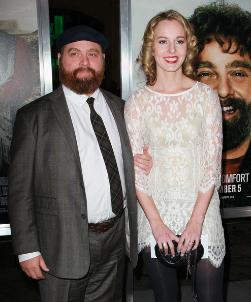 Zach Galifianakis And Quinn Lundberg Photos Photostream Pictures Premiere Of Warner Bros Due Date Arrivals