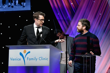 Zach Galifianakis Venice Family Clinic Silver Circle Gala 2018 - Inside