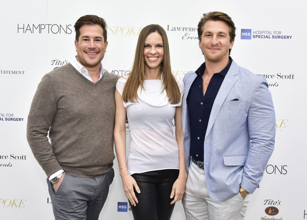 Hamptons Magazine Memorial Day Celebration With Cover Star Hilary Swank Presented by Bespoke Real Estate