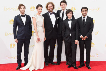 Zach Woods Kumail Nanjiani Arrivals at the 66th Annual Primetime Emmy Awards — Part 2