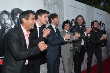 """Zach Woods Kumail Nanjiani Premiere Of HBO's """"Silicon Valley"""" - Red Carpet"""