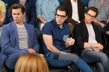 Zachary Quinto SiriusXM's Town Hall With The Cast Of 'Boys In The Band' Hosted By Andy Cohen