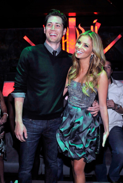 Soon-to-be husband and wife: Zack Conroy and Amber Lancaster