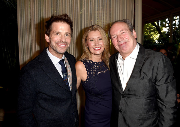 18th Annual AFI Awards - Red Carpet [red carpet,event,suit,formal wear,fun,smile,tuxedo,ceremony,zack snyder,deborah snyder,hans zimmer,l-r,los angeles,four seasons hotel,california,beverly hills,afi awards]