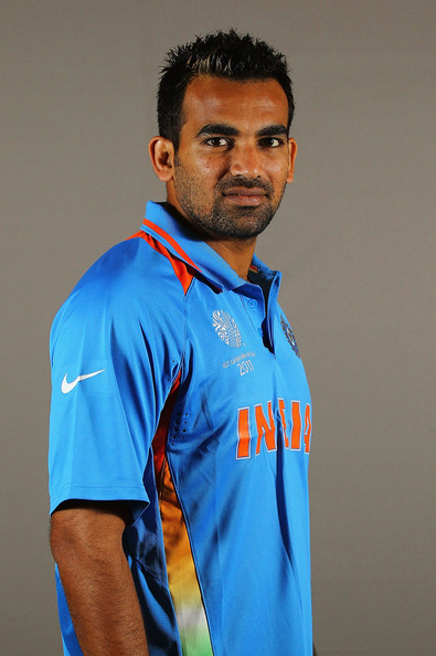 Zaheer Khan - 2011 ICC World Cup - India Portrait Session