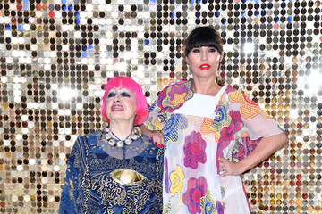 Zandra Rhodes 'Absolutely Fabulous: The Movie' - World Premiere - Red Carpet