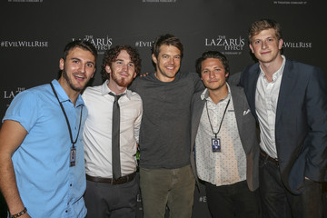 Zane Hijazi Relativity Media Hosts a Special Screening of 'The Lazarus Effect' at The Hollywood Forever Cemetery