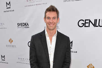 Zane Stephens Celebs at the Genlux Magazine Release Party