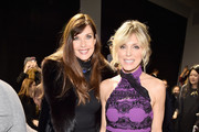 Carol Alt and Marla Maples attend the Zang Toi front row during New York Fashion Week: The Shows at Gallery II at Spring Studios on February 13, 2019 in New York City.