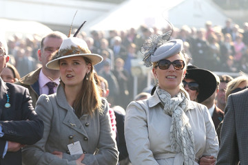 Zara Phillips The Cheltenham Festival: Day 4