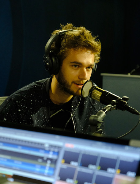 Celebrities Visit The SiriusXM Hollywood Studio [siriusxm,hollywood studio,the siriusxm hollywood studio,music,music artist,musician,microphone,performance,singer,audio equipment,electronic device,electronic instrument,composer,los angeles,california,celebrities,zedd]