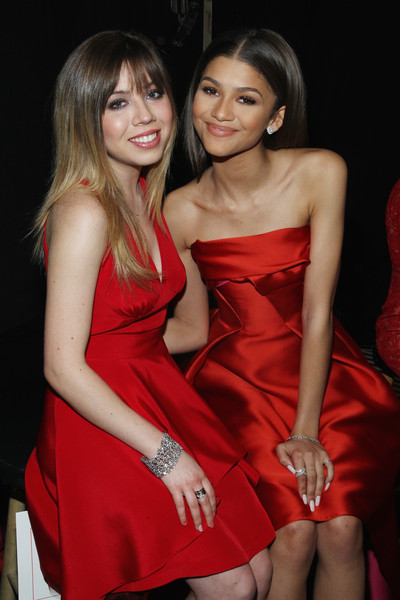 American Heart Association Go Red For Women Red Dress Collection 2015 Presented By Macy's At Mercedes-Benz Fashion Week - Backstage