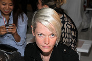 Kate Lanphear attends the Zero + Maria Cornejo fashion show during Mercedes-Benz Fashion Week Spring 2015 at Location 05 Studios on September 8, 2014 in New York City..