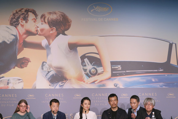 'Ash Is The Purest White (Jiang Hu Er Nv)' Press Conference - The 71st Annual Cannes Film Festival