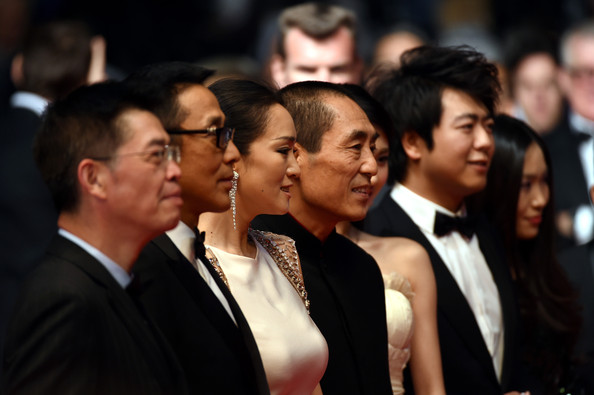 'Coming Home' Premieres at Cannes [event,youth,audience,crowd,formal wear,choir,ceremony,performance,suit,zhang zhao,zhang yimou,chen daoming,gong li,gui lai,coming home premieres,cannes,france,premiere,cannes film festival]