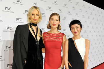 Zhou Xun IWC Schaffhausen at SIHH 2016 - 'Come Fly With Us' Gala Dinner