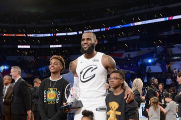 Zhuri James NBA All-Star Game 2018
