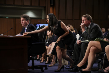 Zina Bash Senate Holds Confirmation Hearing For Brett Kavanugh To Be Supreme Court Justice