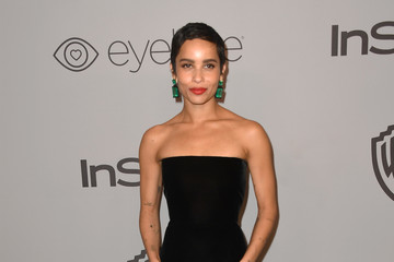 Zoë Kravitz Warner Bros. Pictures And InStyle Host 19th Annual Post-Golden Globes Party - Arrivals
