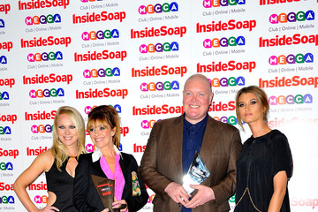 Zoe Henry Arrivals at the Inside Soap Awards