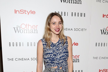 "Zoe Kazan The Cinema Society & Bobbi Brown With InStyle Host A Screening Of ""The Other Woman"""