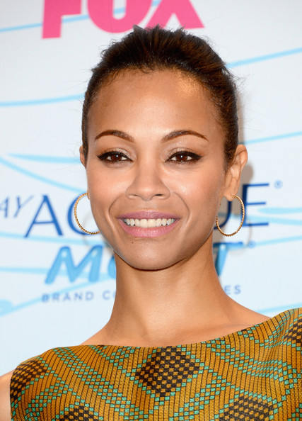 Zoe Saldana - Teen Choice Awards 2012 - Press Room