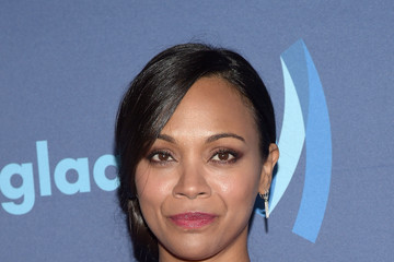 Zoe Saldana 26th Annual GLAAD Media Awards - Arrivals