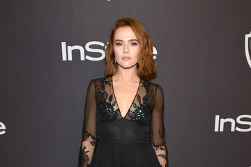 Zoey Deutch The 2019 InStyle And Warner Bros. 76th Annual Golden Globe Awards Post-Party - Red Carpet