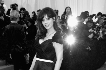 Zooey Deschanel Alternative Views at the Met Gala